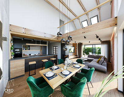House interior design CGI