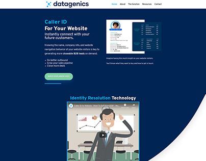 Datagenics Website