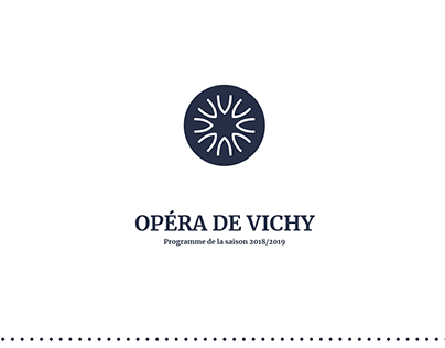 Opéra de Vichy // Programme 2018/2019