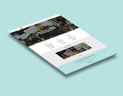 Vancouver Urban Farming Society Web Design Concept
