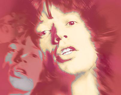 Serie gráfica - Mick Jagger