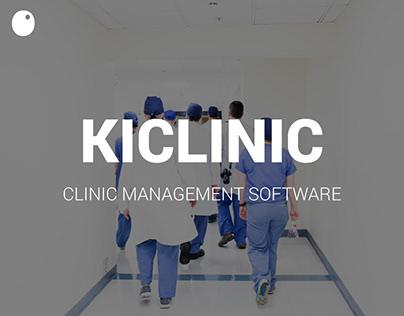 KiCLINIC - Software de Gestão de Clínicas // Website