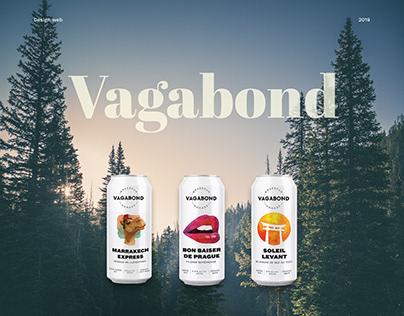 Vagabond | Refonte de site