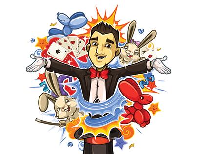 Art for a magician from Austria Philipp Kainz