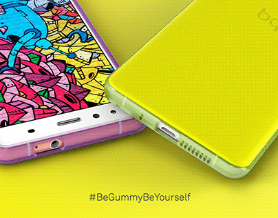 BQ X5 Gummy Cover. Art Direction