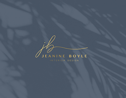 Jeanine Boyle Interior Design Branding