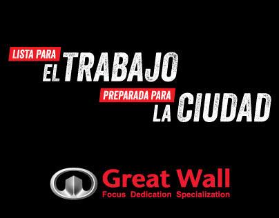 Brand communications - Great Wall