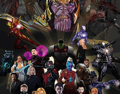 Avengers 4 Endgame Collaboration