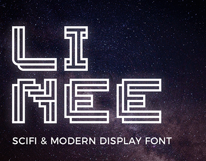 Linee Display Font