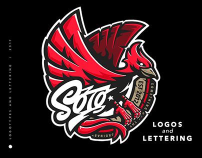 Logos & Lettering 2017 Vol. 2