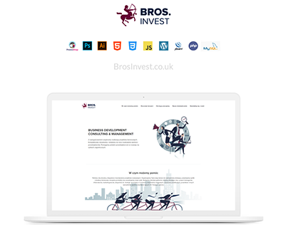 Bros. Invest - Case Study Landing Page