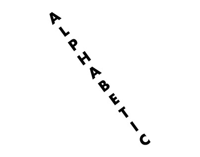 Alphabetic (Typography)