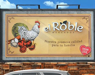 Publicidad exterior - Valla el Roble