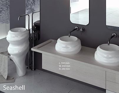 design of washbasins for the bathroom
