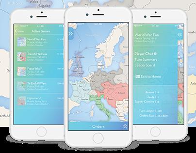 Diplomacy for iOS #MadeWithAdobeXD