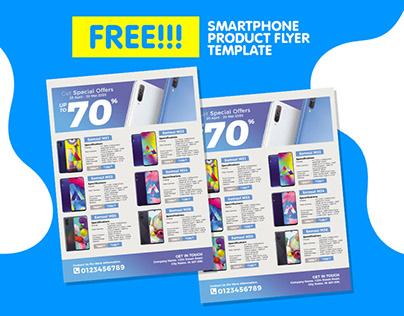 Smartphone Catalog Flyer For Promotion