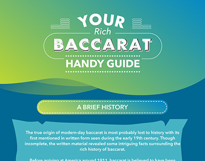 BACCARAT Infographic for CASINOMIR