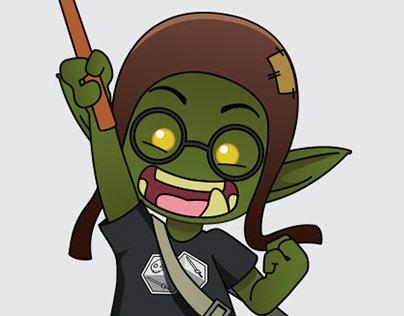 Mascote - Goblinho