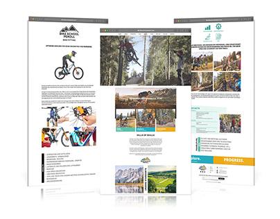 BIKE SCHOOL PEKOLL - Branding, Logo & Web Design