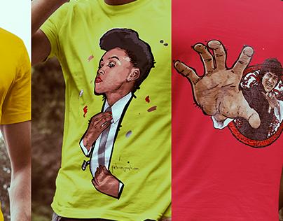 Various T Shirt Designs
