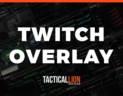 Twitch Overlay 🔥 - TacticalLionDesigns