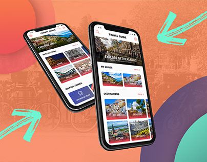 UX/UI - the mobile travel app