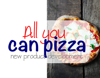 All you can Pizza!