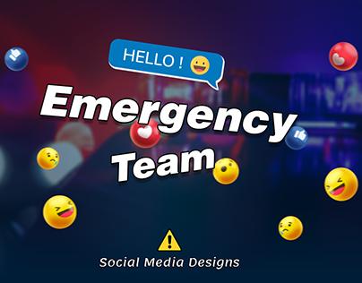 Social Media (Emergency)
