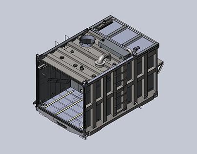 Automated Water Blasting Equipment Design