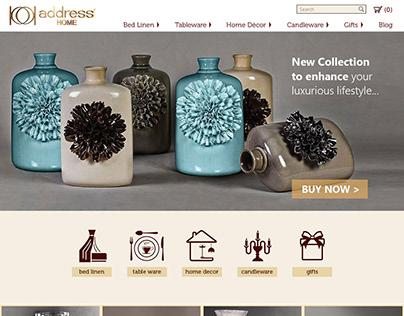 UX / UI - eCommerce Luxury Lifestyle Portal