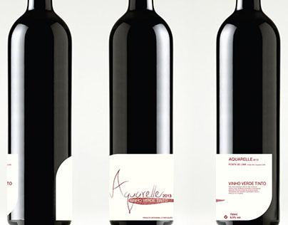 Rótulo de Vinho Verde