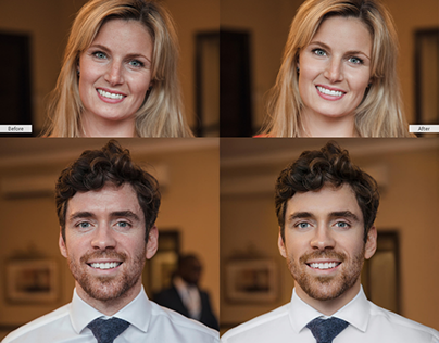 Headshot Photo Retouching | corporate, modeling