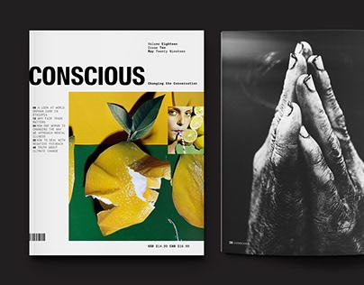 Conscious Magazine Redesign