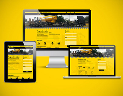 Brutos Transportes - Website and Logo Design