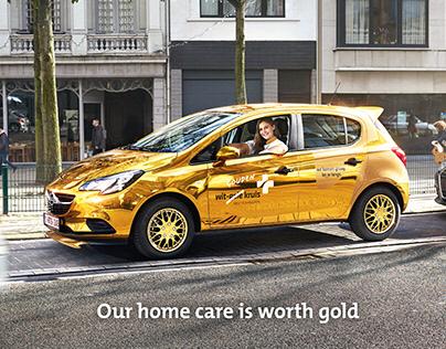 Wit-Gele Kruis - GOLD