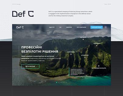 DEF-C - Web Site