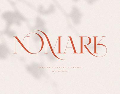 NOMARK || Ligature Typeface [FREE]