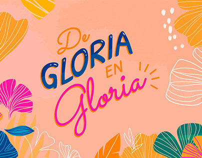 De gloria en gloria - Video lyric