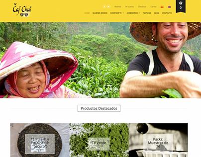 Čaj Chai | Website 2016