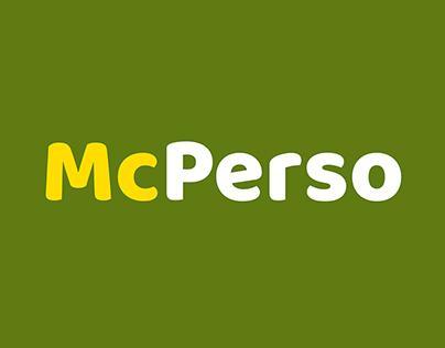 McDonald's - McPerso