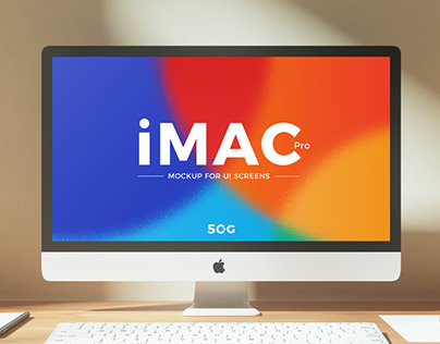 FreeiMac Pro Mockup PSD