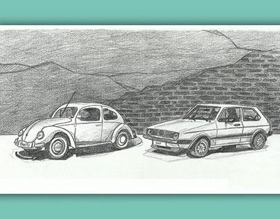 Lámina iconos Volkswagen