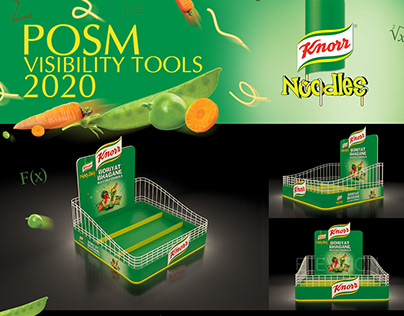 Knorr Noodles POSM Visibility Tools 2020