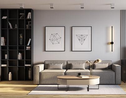 Апартаменты 83 кв.м. ЖК Флагман