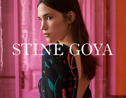 Stine Goya, a branded shopping experience