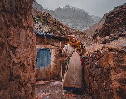 Valle del Imlil y el Loco de Toubkal