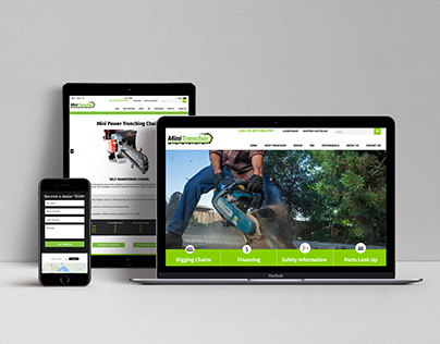 Trencher Website Redesign