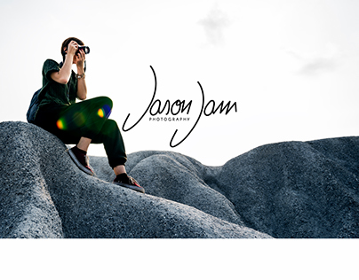 Jason Jam photographer - Hand made logo