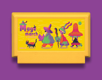 Mage March - Famicase 2019