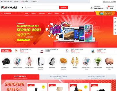 FlashMart - Multipurpose Supermarket OpenCart 3 Theme